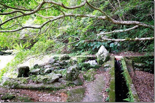 奄美大島,アランガチの滝,雰囲気