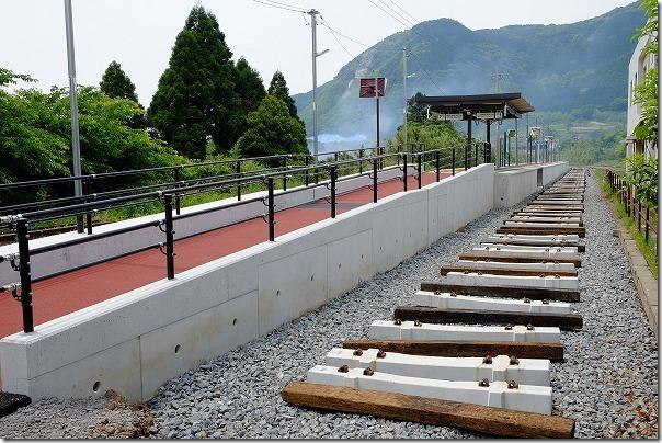 JR立野駅の復旧状況