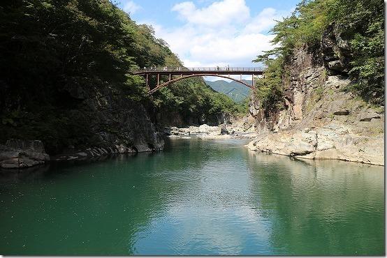 龍王峡 河原