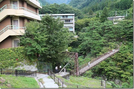 鬼怒川温泉 滝見橋 吊り橋