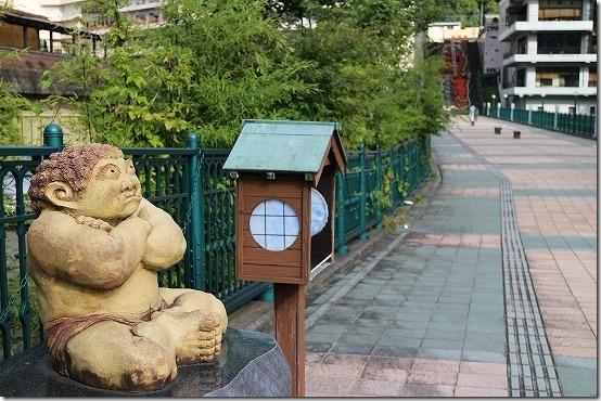 鬼怒川温泉 ふれあい橋の鬼2