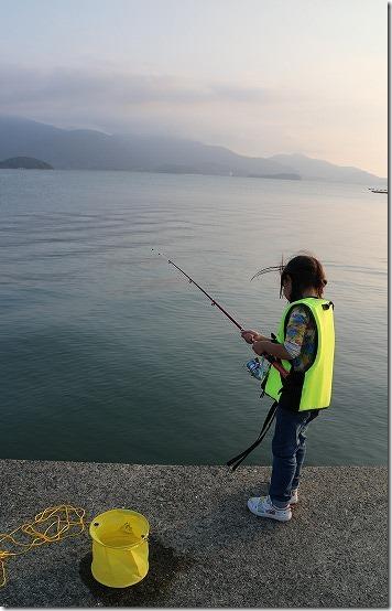 子供と釣り 糸島