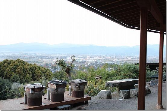 みのう山荘の蒸気釜