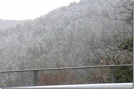 三瀬峠 雪
