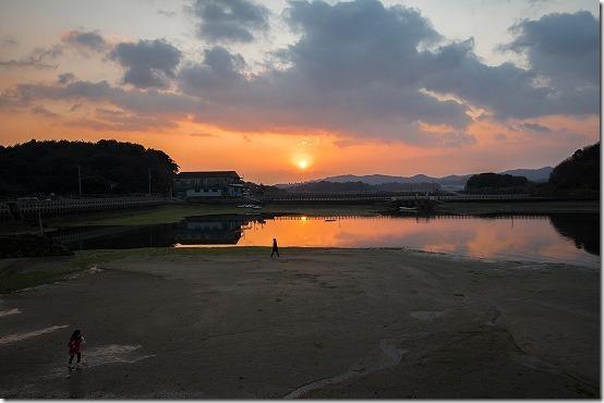 天草 なかしま荘の朝日