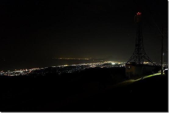 十文字原展望台の夜景(別府)
