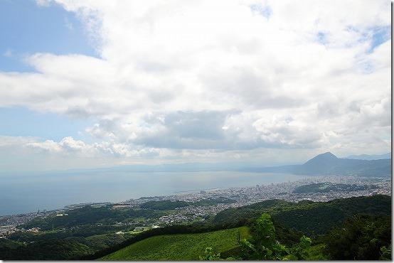 十文字原展望台からの景色
