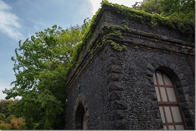 河内貯水池 中世の建物