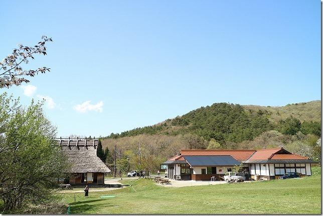 かりお茶屋で蕎麦定食(広島・芸北高原)(出雲・境港の周遊旅行)