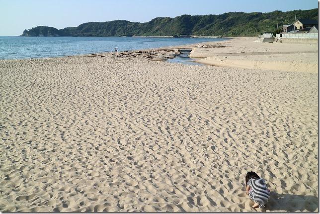 広い琴ヶ浜