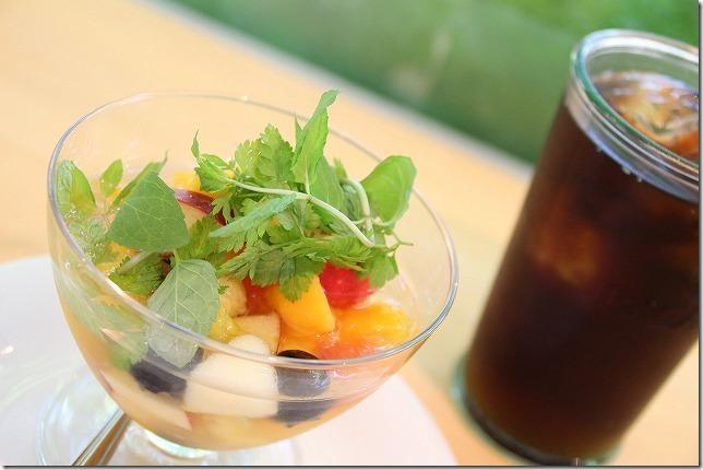 福岡市植物園のワイン風フルーツポンチ
