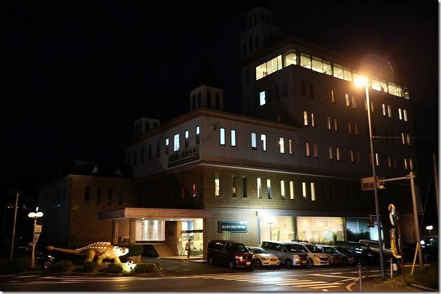 奥出雲多根自然博物館のナイトミュージアム(出雲・境港の周遊旅行)