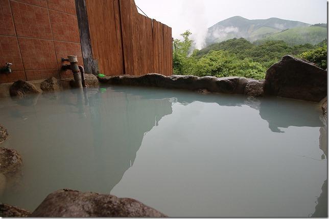 豊礼の湯の家族風呂・露天