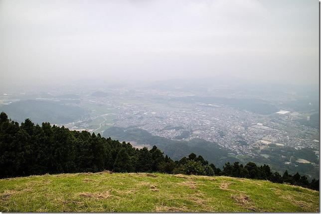 米山展望台からの形式