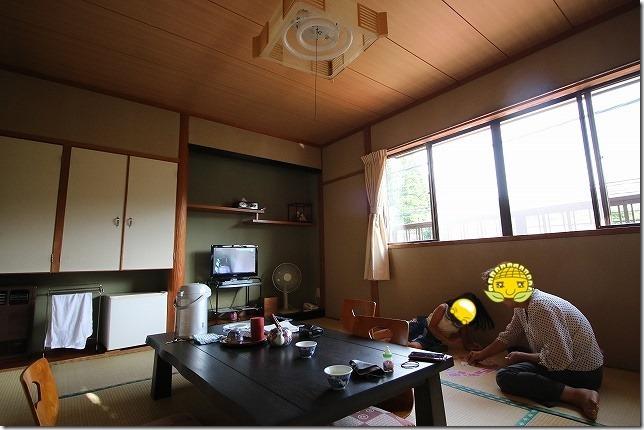 筋湯温泉 旅館 名山 部屋&家族風呂編