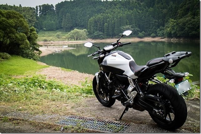 MT07 無事納車です。初インプレッション
