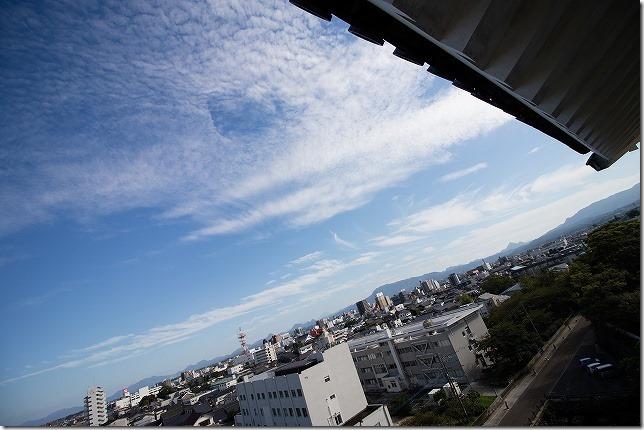 中津城からの眺め