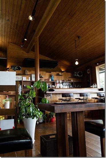 みのう山荘のカフェ レストラン