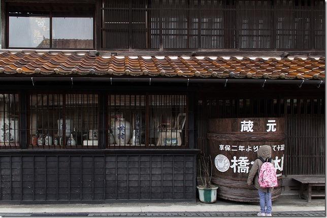 津和野の古い酒蔵
