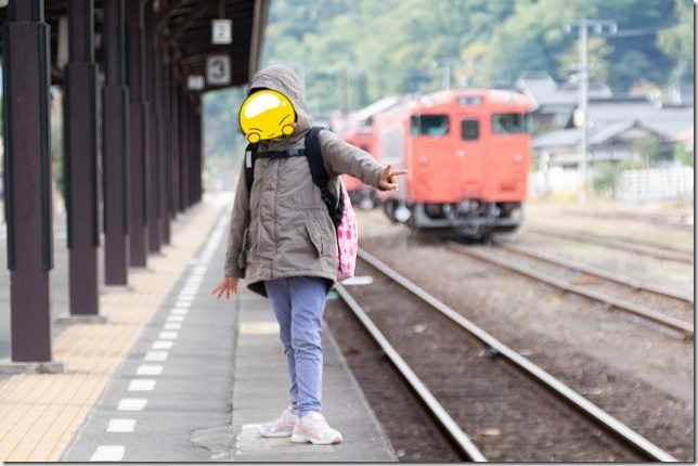SL山口の乗る 津和野-新山口 特急スーパーおき(しまねっこ)