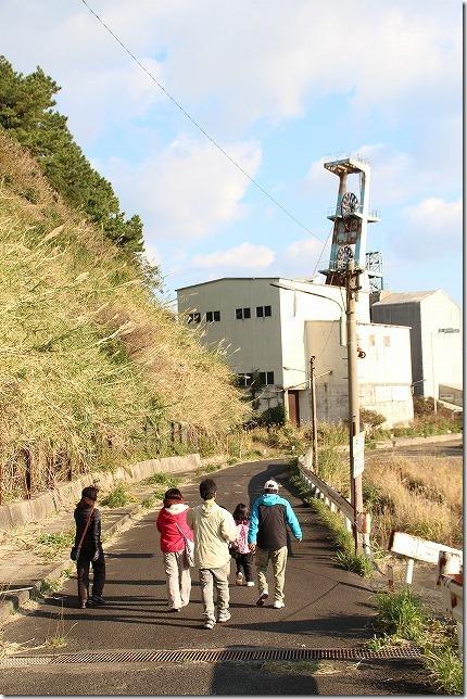 池島炭鉱 第2竪坑櫓