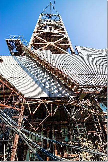 第1竪坑櫓 池島炭鉱