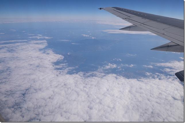 JAL 桜島