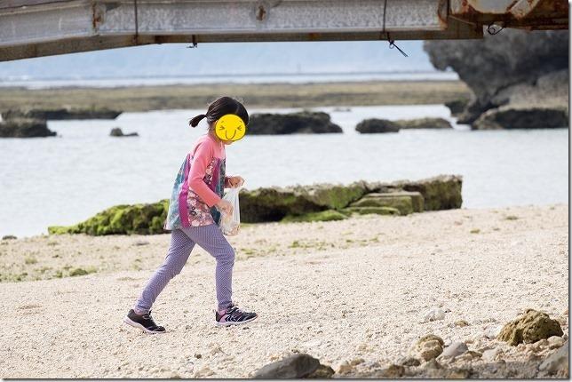 沖縄旅行(2日目) みーばるビーチでグラスボートとオカヤドカリ