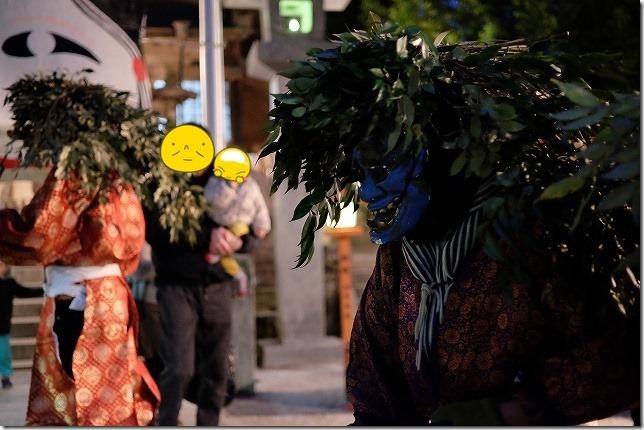 飯盛神社の鬼