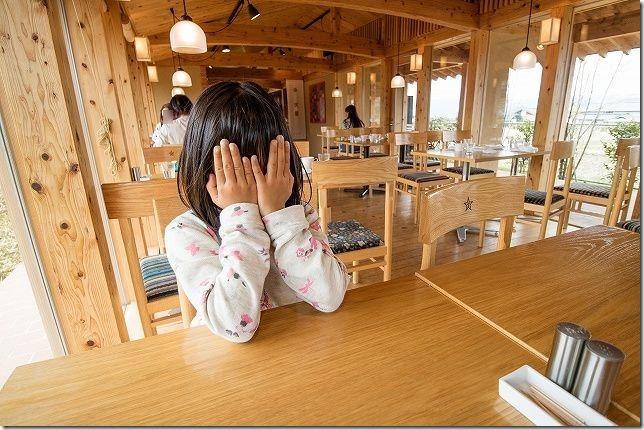 阿蘇駅 レストラン火星の店内