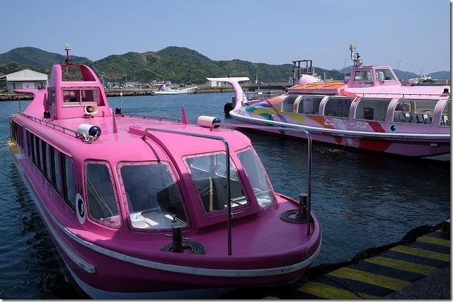 青海島観光船