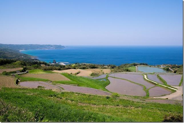 東後畑棚田と千畳敷からの絶景(山口県・長門市)
