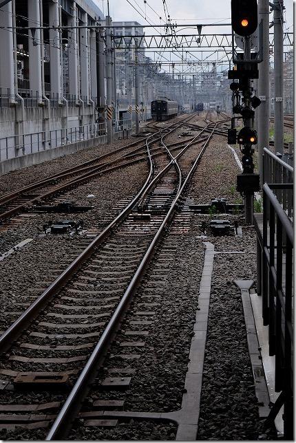 博多駅を出たななつ星