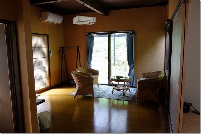 宇戸の庄の離れの部屋