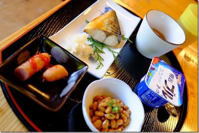 宇戸の庄の子供の朝食