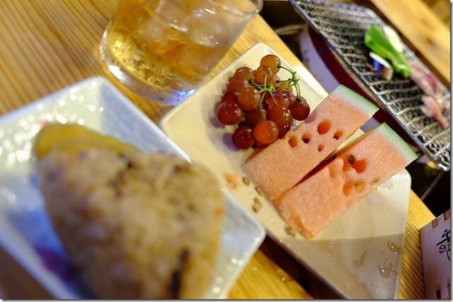 宇戸の庄の夕食・キジ飯