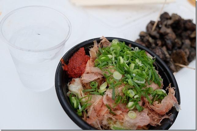九州沖縄焼酎サミットの食べ物