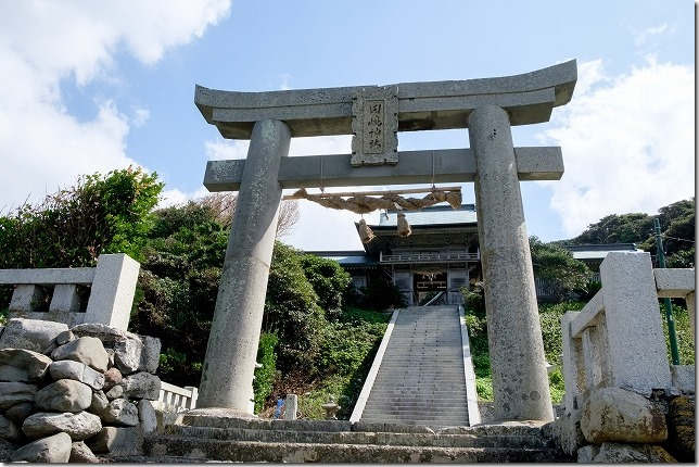呼子加部島の田島神社