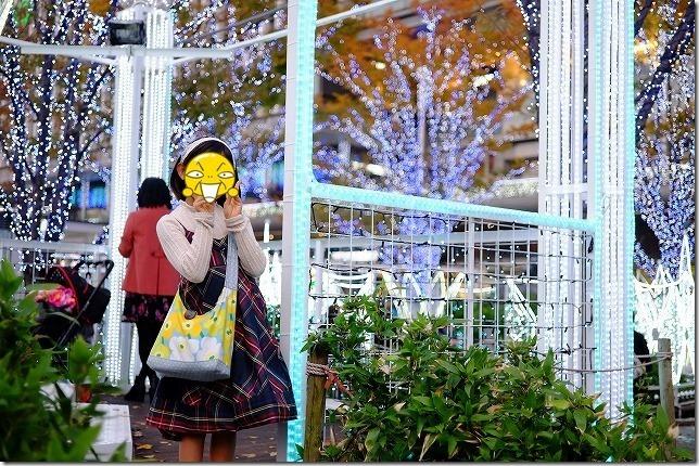 博多駅のイルミネーション