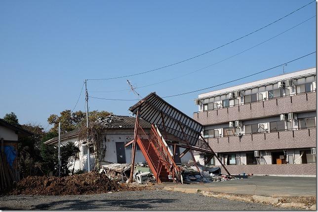 益城町2016の震災後