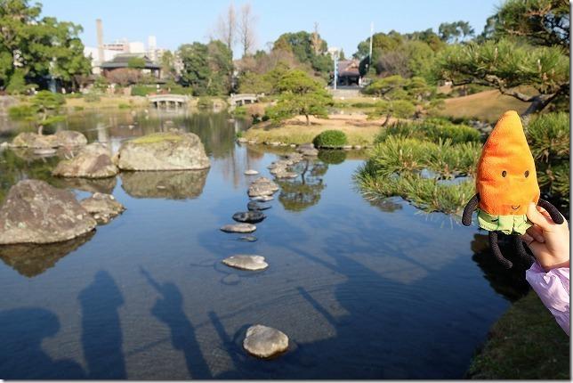 水前寺公園の景観、湧水