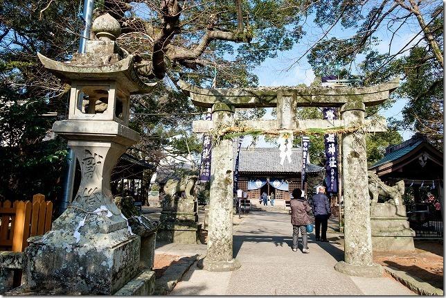 嬉野温泉、豊玉姫神社