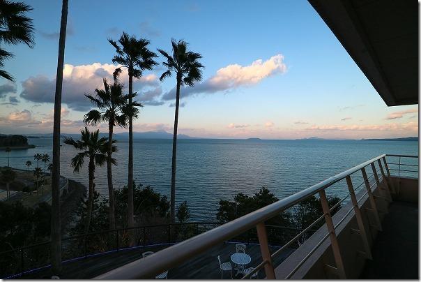 ホテルアレグリアガーデンズ天草の部屋からの海