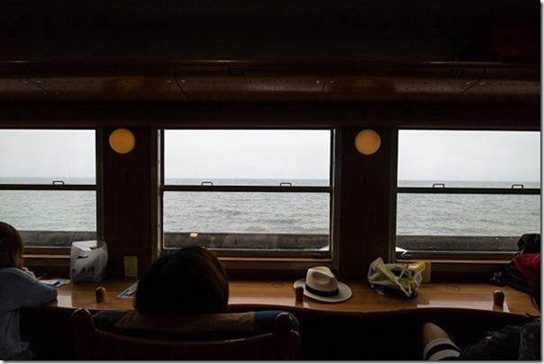 指宿のたまて箱から海