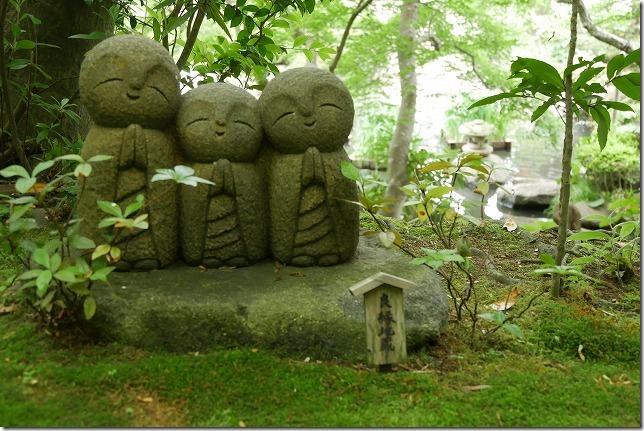 長谷寺の可愛い地蔵さん