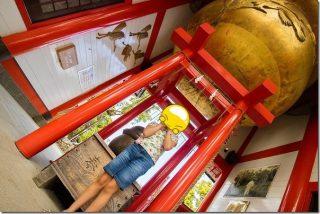 日本一の大鈴のある神社 箱崎八幡神社で御朱印(鹿児島県出水市)