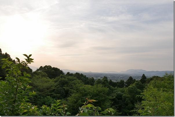 みのう山荘からの眺め