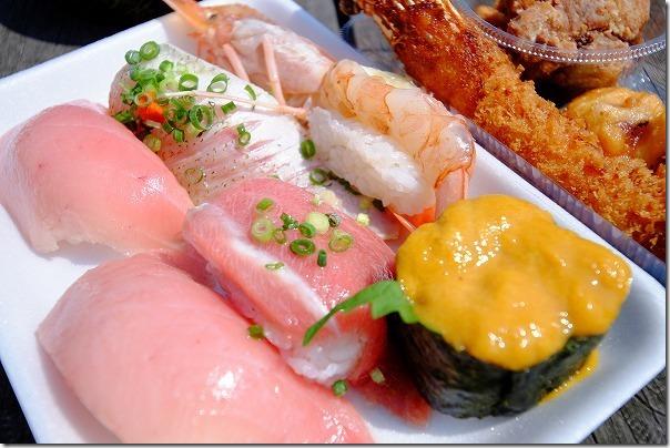 唐戸市場のお寿司