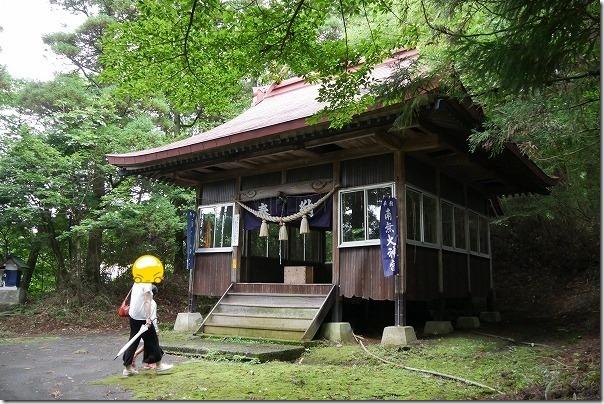 筋湯温泉、散策で神社