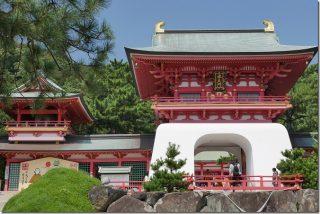 唐戸市場周辺の神社を参拝(赤間神宮、亀山八幡宮)